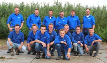 Van Aalsburg team