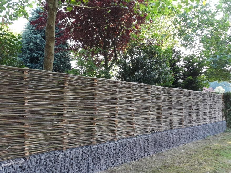 Natural fencing - Lifespan of natural fencing